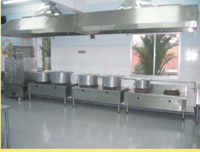 Mô hình phòng bếp
